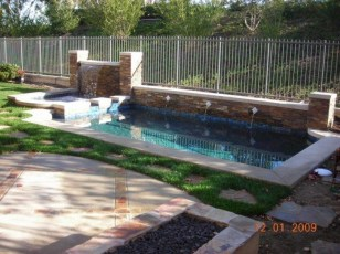 Perfect Backyard Home Design Ideas With Swimming Pool 14