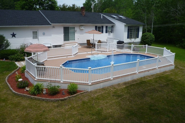 Perfect Backyard Home Design Ideas With Swimming Pool 22