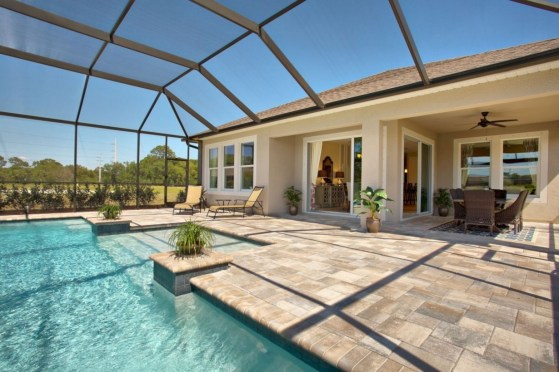 Perfect Backyard Home Design Ideas With Swimming Pool 25