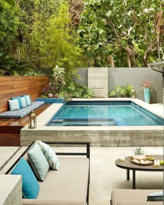 Perfect Backyard Home Design Ideas With Swimming Pool 26