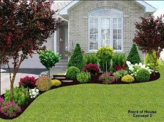 Pretty Front Yard Landscaping Ideas 34