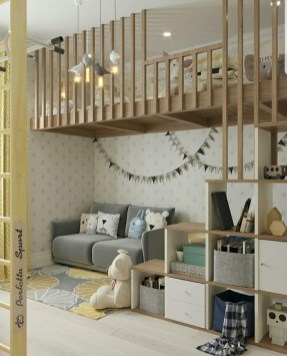 Unusual Children Bedroom Decoration Ideas That Look Cool 38