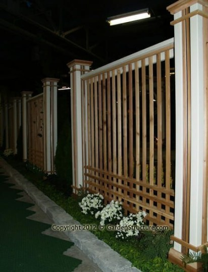 Wonderful Front Yard Ideas With Contemporary Fence 09