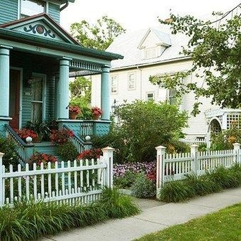 Wonderful Front Yard Ideas With Contemporary Fence 14
