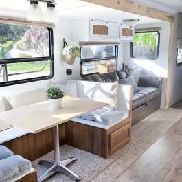 Captivating Farmhouse Style Decor Ideas For Rv Makeover To Tryl 46