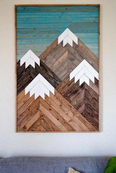 Chic Diy Pallet Wall Art Ideas To Try 09