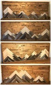 Chic Diy Pallet Wall Art Ideas To Try 22