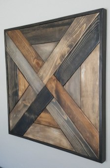 Chic Diy Pallet Wall Art Ideas To Try 34