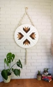 Chic Diy Pallet Wall Art Ideas To Try 42