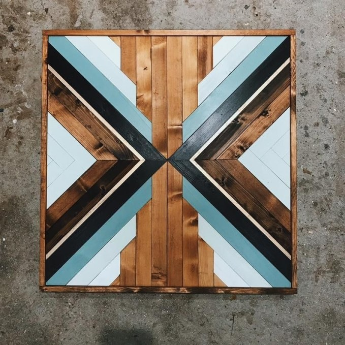 Chic Diy Pallet Wall Art Ideas To Try 49