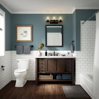 Comfy Bathroom Decor Ideas To Try This Year 08