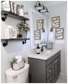 Comfy Bathroom Decor Ideas To Try This Year 50