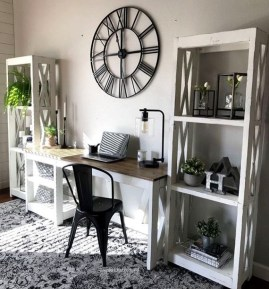 Creative Farmhouse Desk Ideas For The Home Office To Try 01