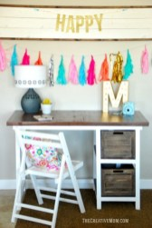 Creative Farmhouse Desk Ideas For The Home Office To Try 12
