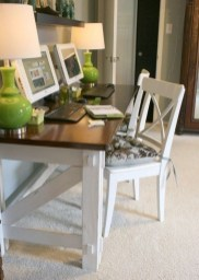 Creative Farmhouse Desk Ideas For The Home Office To Try 32