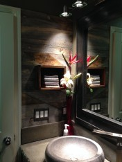 Elegant Bathroom Remodel Ideas With Stikwood That Looks Cool 01