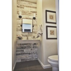 Elegant Bathroom Remodel Ideas With Stikwood That Looks Cool 04