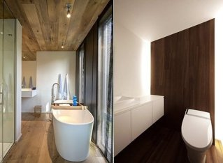 Elegant Bathroom Remodel Ideas With Stikwood That Looks Cool 05