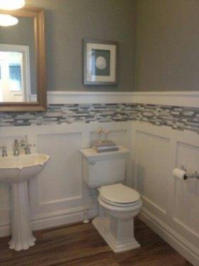 Elegant Bathroom Remodel Ideas With Stikwood That Looks Cool 16