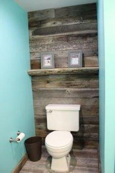 Elegant Bathroom Remodel Ideas With Stikwood That Looks Cool 27