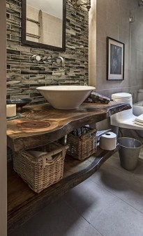 Elegant Bathroom Remodel Ideas With Stikwood That Looks Cool 28