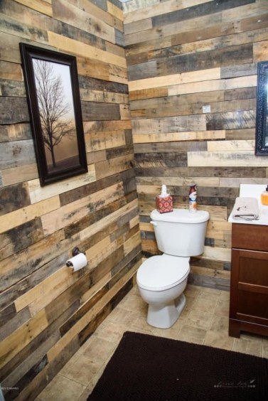 Elegant Bathroom Remodel Ideas With Stikwood That Looks Cool 32