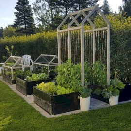 Fabulous Garden Design Ideas For Small Space That Looks Cool 39