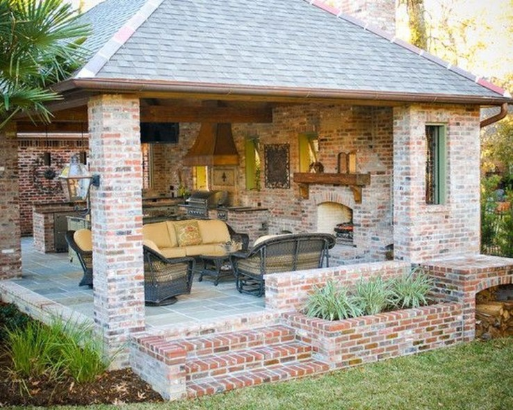 Fantastic Kitchen Design Ideas For Outdoor Kitchen This Year 33