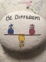 Fascinating Painted Rocks Quotes Design Ideas 10