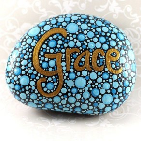 Fascinating Painted Rocks Quotes Design Ideas 24