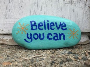 Fascinating Painted Rocks Quotes Design Ideas 32