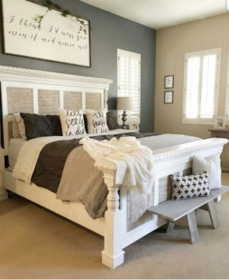 Gorgeous Bedroom Ideas For Couples On A Budget To Try 32