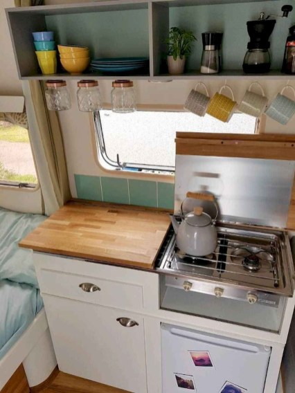 Popular Rv Storage Solutions Ideas For Travel Trailers 43