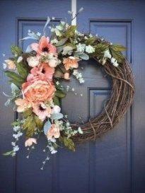 Pretty Summer Wreaths Decor Ideas That Looks Cool 03