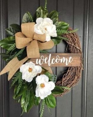 Pretty Summer Wreaths Decor Ideas That Looks Cool 06