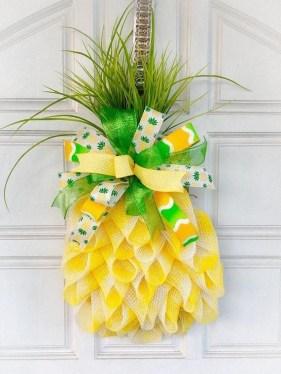 Pretty Summer Wreaths Decor Ideas That Looks Cool 18