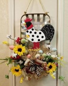 Pretty Summer Wreaths Decor Ideas That Looks Cool 28