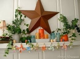 Unique Summer Mantel Decorating Ideas To Try 04