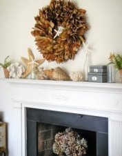 Unique Summer Mantel Decorating Ideas To Try 08