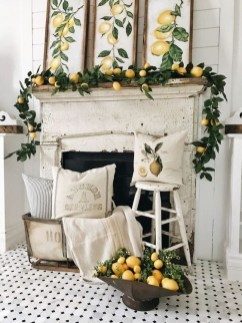 Unique Summer Mantel Decorating Ideas To Try 37