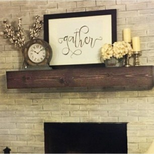Unique Summer Mantel Decorating Ideas To Try 40