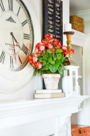 Unique Summer Mantel Decorating Ideas To Try 47