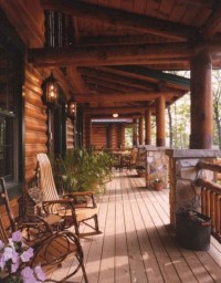 Wonderful Homes Plans Design Ideas With Log Cabin 01