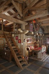 Wonderful Homes Plans Design Ideas With Log Cabin 19