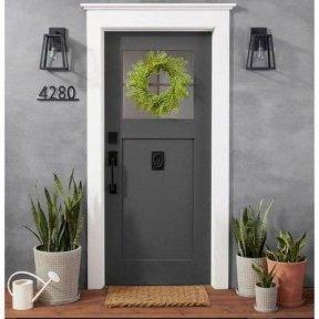 Adorable Green Porch Design Ideas For You 05