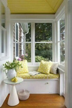 Adorable Green Porch Design Ideas For You 07