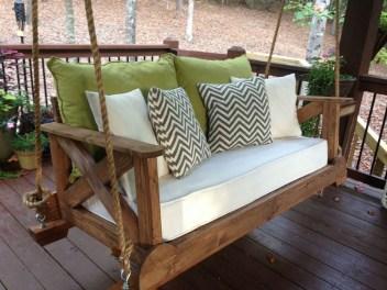 Adorable Green Porch Design Ideas For You 13