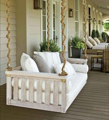 Adorable Green Porch Design Ideas For You 34