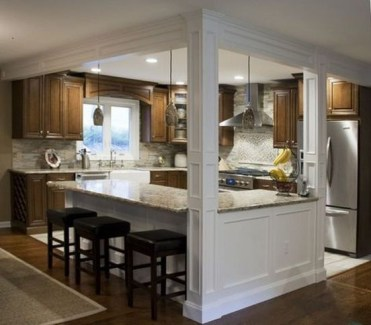 Adorable Small Kitchen Design Ideas For You 25