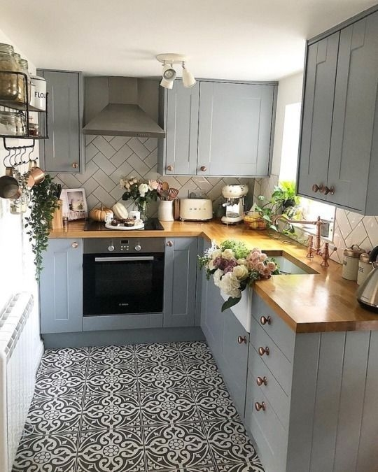 Adorable Small Kitchen Design Ideas For You 39